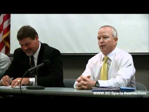 2011 Class AAAA Division I Championship Game Press Conference (Gaffney vs. Byrnes)