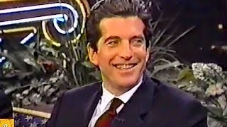JFK Jr. Rare TV Interview in 1998 (a year before his death)