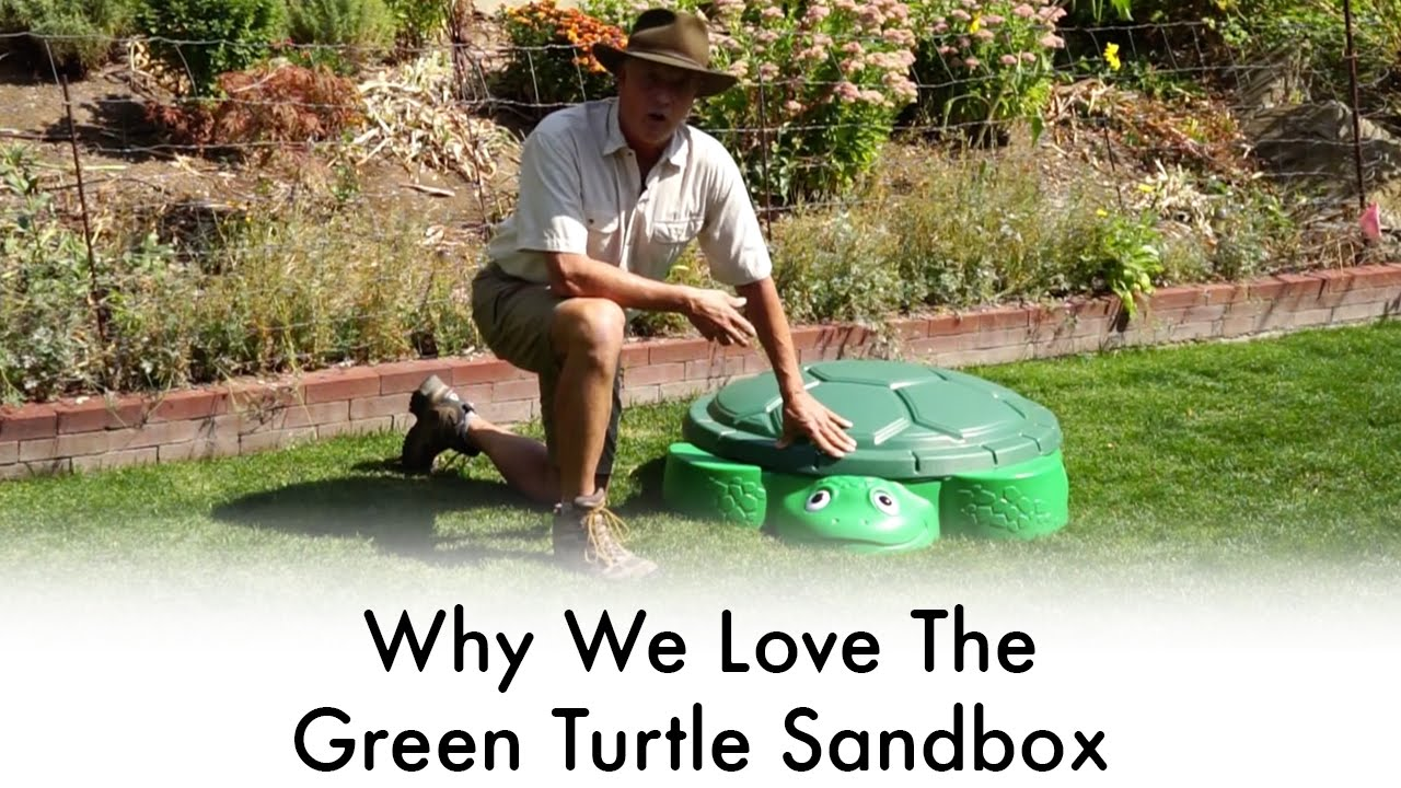 6e49fba58e 3 Reasons We Love The Little Tikes Green Turtle Sandbox   Jurassic Sands