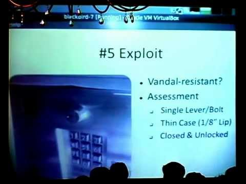 The Next HOPE: Easy Hacks on Telephone Entry Systems (Complete)