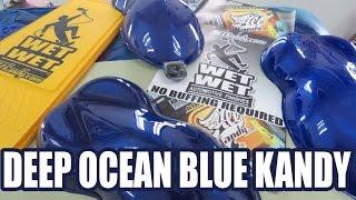 DEEP OCEAN BLUE KANDY /  ALLKANDY PRODUCT DEMO  part 1