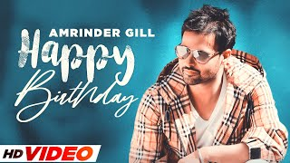 Birthday Wish | Amrinder Gill | Birthday Special | Latest Punjabi Songs 2021 | Speed Records