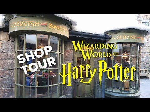 HARRY POTTER SHOP TOUR: Dervish And Banges | WIZARDING WORLD UNIVERSAL ORLANDO
