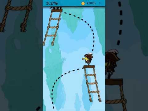 Doodle jump captain peg leg 50k pirate level