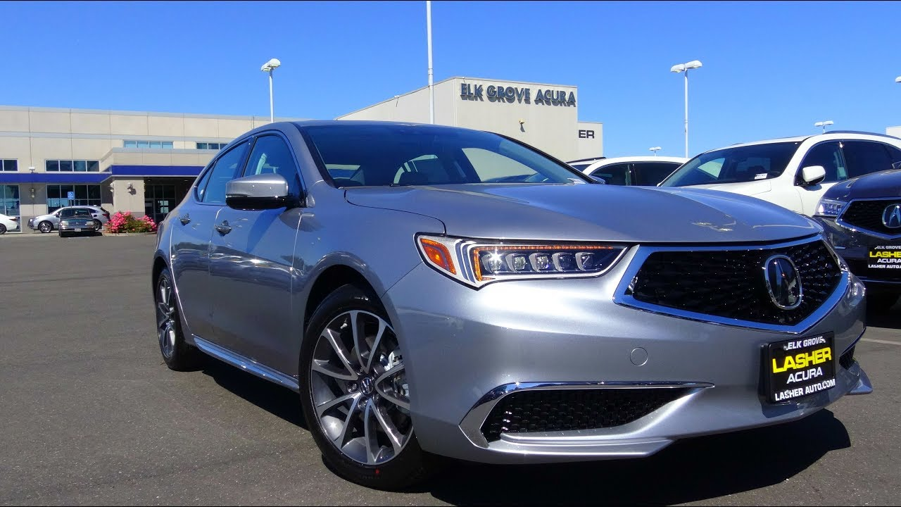 2018 Acura Tlx 3 5 L V6 Review