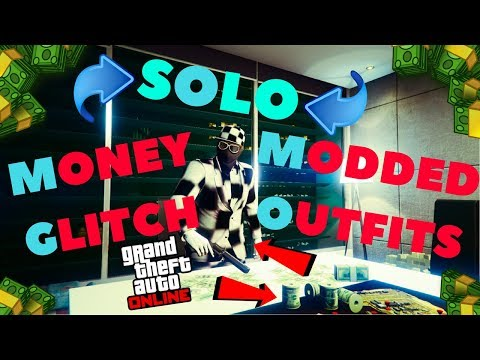 *SOLO*UNLIMITED MONEY GLITCH*DM OUTFITS*SOLO MODDED OUTFITS*SP TO MP GLITCH*SOLO MONEY GTA 5 ONLINE