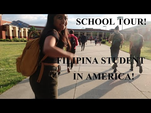 WHAT AMERICANS THINK ABOUT FILIPINOS / AMERICAN HIGHSCHOOL TOUR