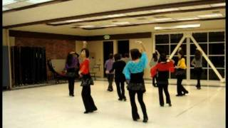 Dancing Heart Line Dance (Feb 2012)