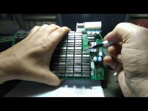 Система питания чипов S9 майнера. Что творится в обвязке чипов ?
