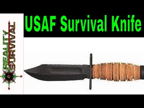 Air Force Survival Knife Review