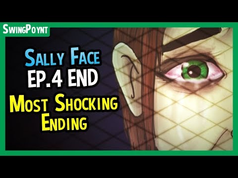 Sally Face Episode 4 ENDING - MOST Shocking Horror Game End in Recent Memory (Sally Face Ep.4 #4)