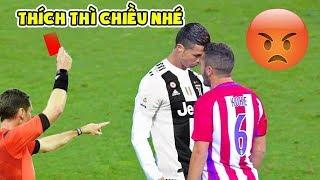 11 chiếc thẻ đỏ ám ảnh suýt chút nữa làm tiêu tan sự nghiệp của Cristiano Ronaldo