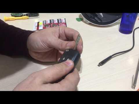Замена Батарейки Ключа - Chevrolet Cruze