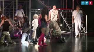 "Maria Meyer jako Maria Magdalena w musicalu ""Jesus Christ Superstar"""