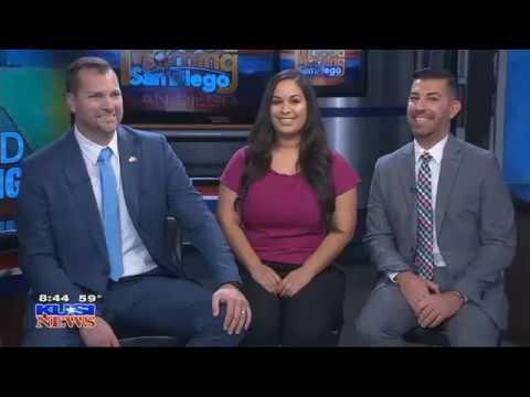Second Chance Fields on KUSI Morning News with Carlos Amezcua
