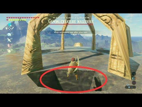 Les tours sont ... SANS TEXTURE ?! Zelda BOTW buggé 1 FR