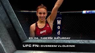 UFC Fight Night: Overeem vs. Oleinik (UFC Fight Night 149)