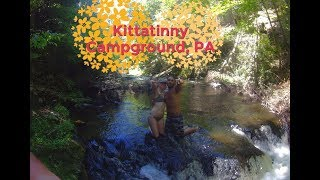 Camping in Pennsylvania/ Kittatinny Campgrounds/ Delaware Tubing