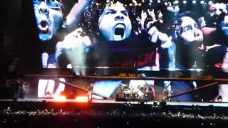Metallica - The Four Horsemen and Whiplash HD(Lima-Peru Estadio Nacional  20-03-2014)