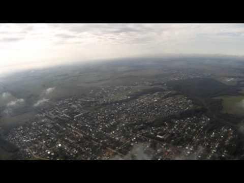 Вязники Вид с высоты 1500 м. 23.06.2013
