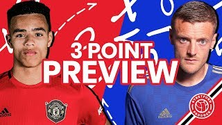 How Bad Is Our Midfield Without Pogba?! | Manchester United vs Leicester City | 3 Point Preview
