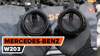 Údržba Mercedes W203 - návod na obsluhu