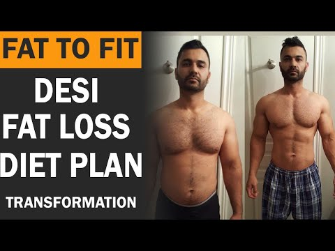 FAT to FIT Transformation DIET PLAN! (Hindi / Punjabi)