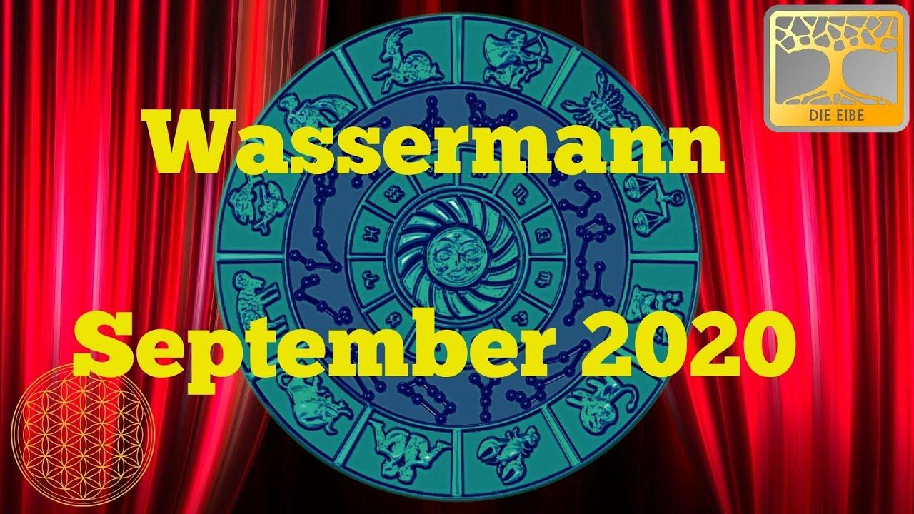 Sternzeichen Wassermann September 2020 / Dein Monatsorakel