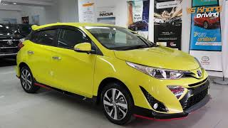 Toyota Yaris 2019 [Sneak Preview] Before Launch | YS Khong Driving