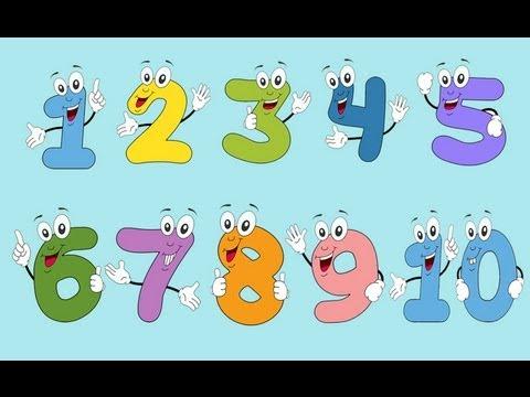 Los números en español del 1 al 10 - Learn numbers in spanish ...