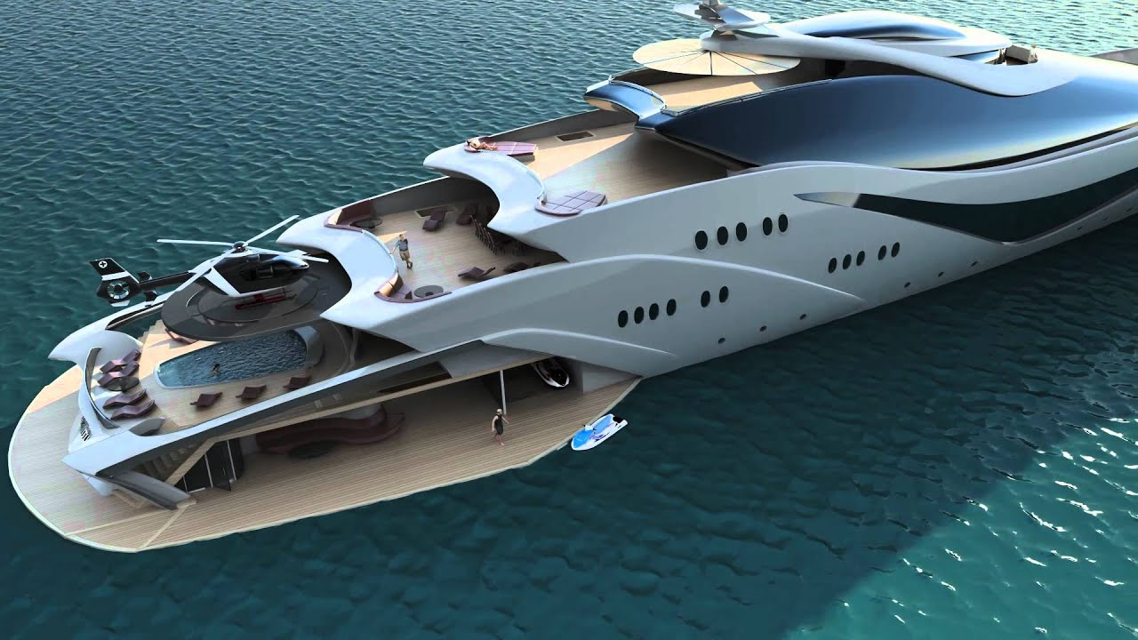 Hd Future Cars Wallpapers Luxurious Yacht Project Magnitude By Opalinski Designs