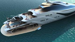 Luxurious yacht  PROJECT MAGNITUDE by  Opalinski designs thumbnail