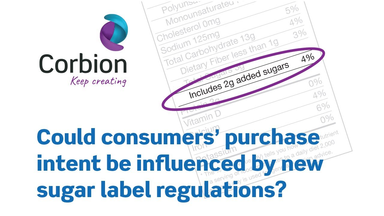 Changes in Sugar Labeling and How it May Affect Consumers