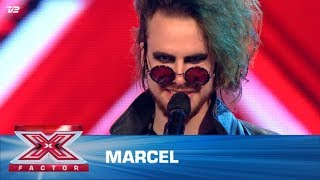 Marcel synger 'Personal Jesus' – Depeche Mode  (5 Chair Challenge) | X Factor 2020 | TV 2