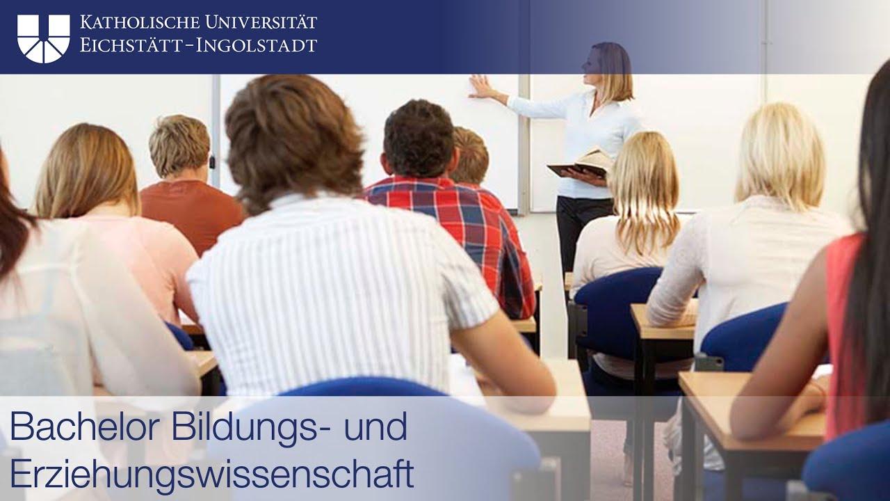Erziehungswissenschaften Bachelor