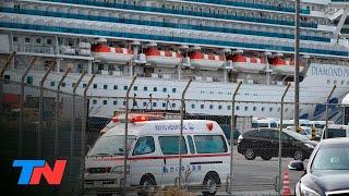 Un argentino tiene coronavirus: está en el crucero en cuarentena en Japón