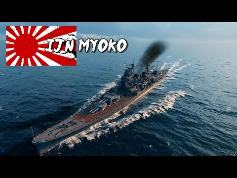 World of Warships - Myoko Class Cruiser