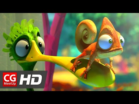 "CGI 3D Animated Short Film ""Green Living / La Vie En Vert"" by ESMA 