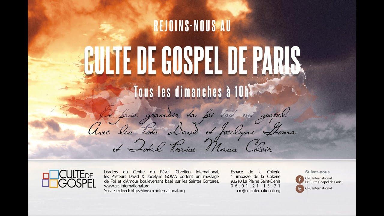 Culte de Gospel de Paris [25 octobre 2020]