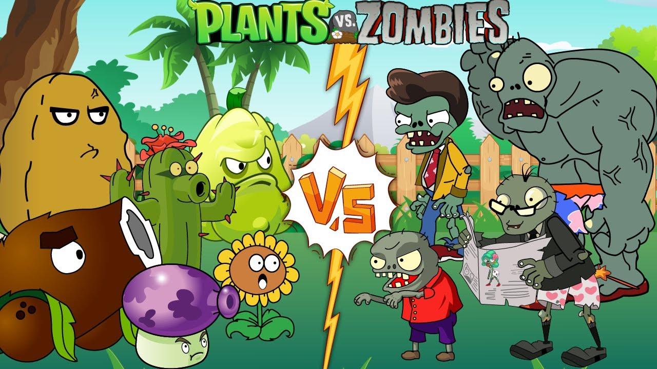 PvZ Creative funny animation #1 (Series 2021)