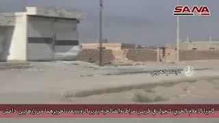 Syria War Video / Боевые действия в провинции Дейр-эз-Зор / Fighting in the province of Deir ez Zor