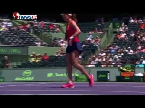 व्रिटिश नम्बर एक जोहन्ना कोन्टा मायामी ओपन टेनिसको सेमिफाईनलमा - SPORTS NEWS