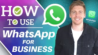 How to Use WhatsApp for Business | WhatsApp Business App Tutorial for Small Business [2021] screenshot 1