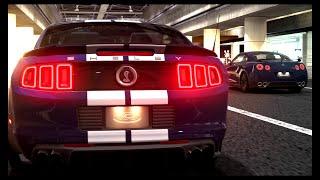 مقاومة موستنج شلبي جي تي 500 ضد جي تي ار بلاك ادشن    Shelby GT500 VS GT-R Black Edition   GT6