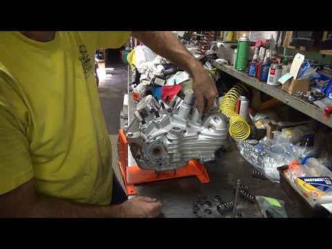 1941 wld 45 56ci stroker #215 flathead motor build 4-5/8 in harley wl by tatro machine