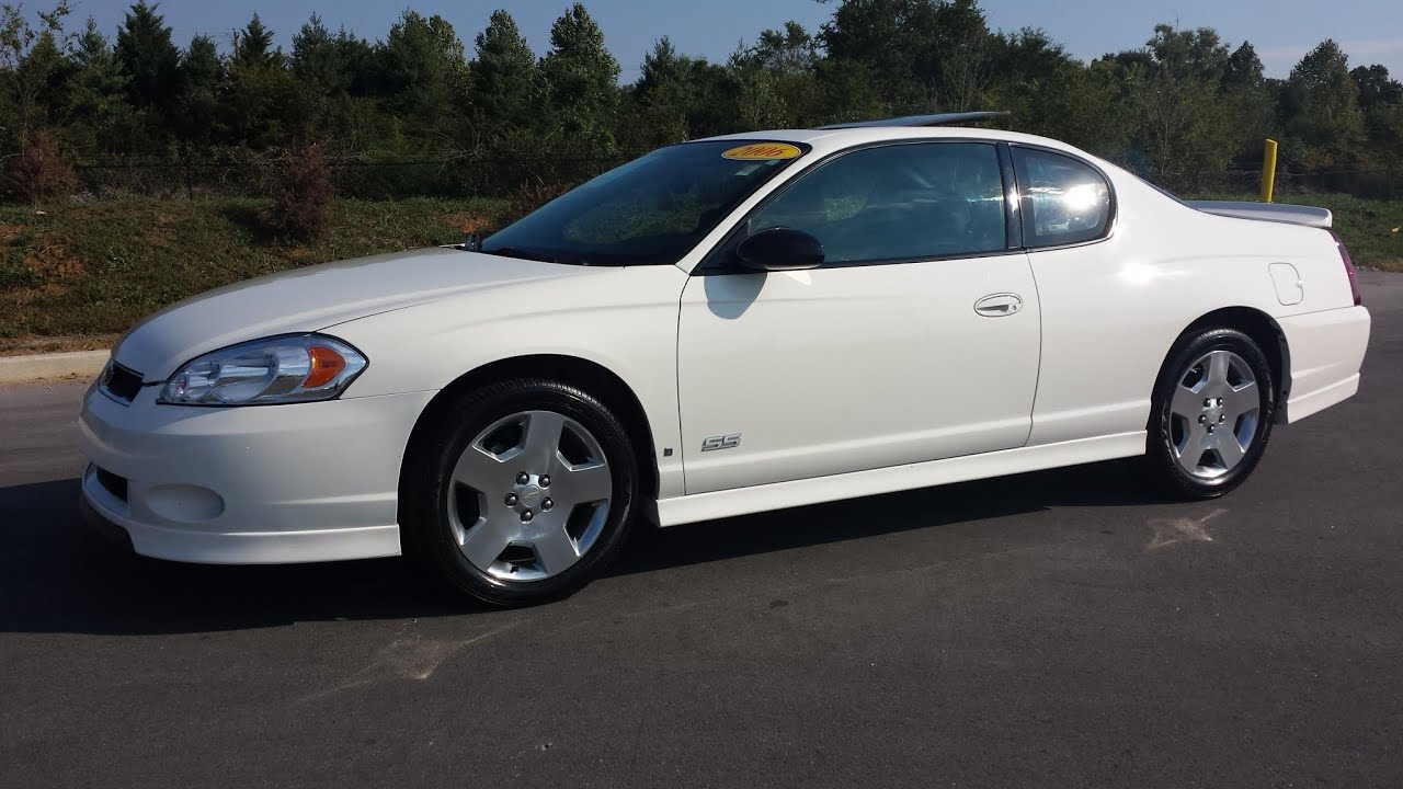 sold 2006 chevrolet monte carlo ss 5 3 small block v 8 100k 2 owner for sale call 855 507 8520 [ 1280 x 720 Pixel ]