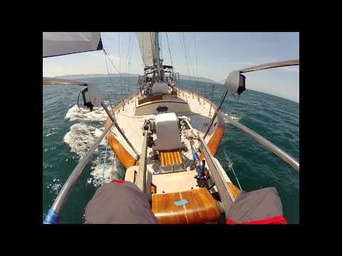 Home from Catalina Aboard Karma