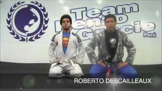 Técnicas de jiu jitsu brasilero - Armbar desde la guardia: Modo 1