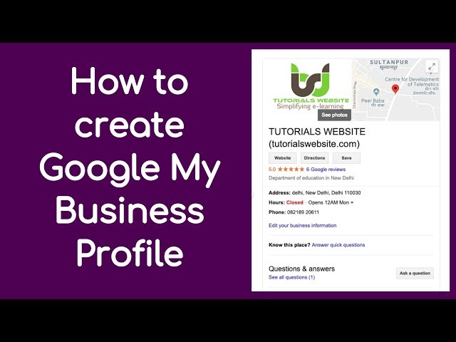 How to create Google My Business Profile   Google My Business me Profile Kaise Banaye