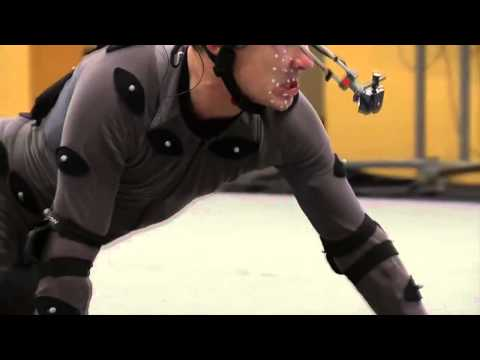 Benedict Cumberbatch interpretando Smaug